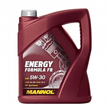 Mannol Energy Formula Engine Oil FR 5W-30 5LB Fully Synthetic